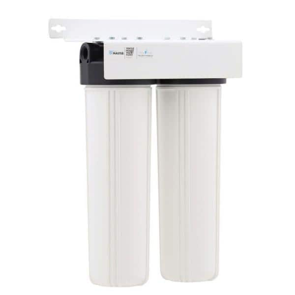 Home Master Whole House 2 Stage Water Filtration System With Multi Gradient Sediment And Kdf85 Catalytic Carbon Hmf2smgcc The Home Depot