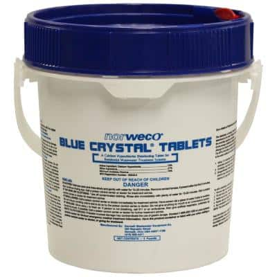 5 lb. Blue Crystal Chlorine Tablets for Aerobic or Septic Systems