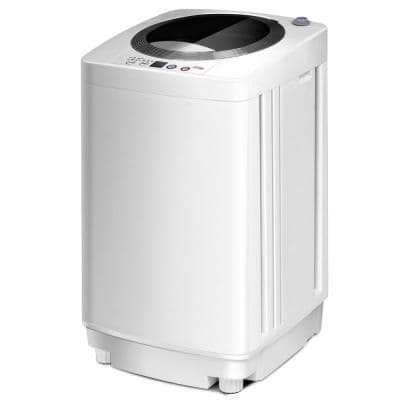16.9 in. 0.79 cu. ft. High-Efficiency White Full-Automatic Top Load Washing Machine, ENERGY STAR