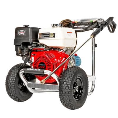 Aluminum 4200 PSI at 4.0 GPM HONDA GX390 Cold Water Pressure Washer