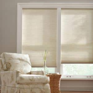 Parchment Cordless Light Filtering Cellular Shade  - 17 in. W x 48 in. L
