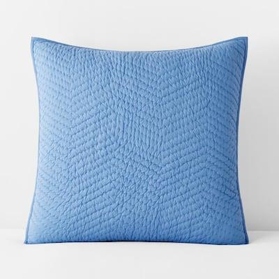 Company Cotton Delft Solid Euro Sham