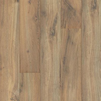Outlast+ 6.14 in. W Linton Auburn Oak Waterproof Laminate Wood Flooring (967.2 sq. ft./pallet)