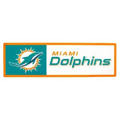 NFL Miami Dolphins Outdoor Step Graphic