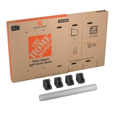 Heavy-Duty Extra-Large Adjustable TV and Picture Moving Box with Handles