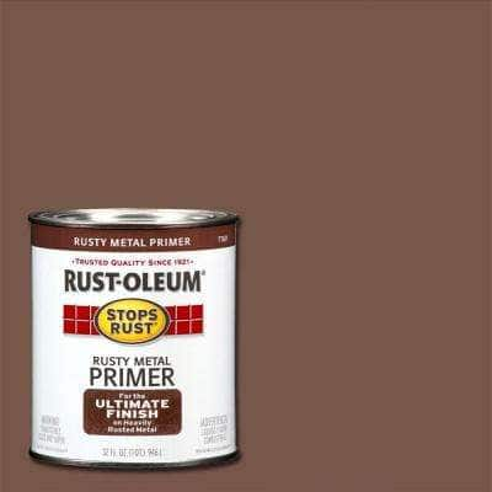 1 qt. Flat Rusty Metal Primer