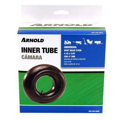 Replacement Inner Tube for 4.10 x 3.50 Tire with 4 in. Rim