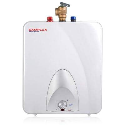 Camplux 6 Gal. Point of Use Mini Tank Electric Tankless Water Heater