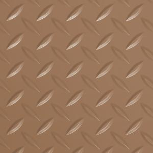 Diamond Tread 10 ft. x 24 ft. Sandstone Commercial Grade Vinyl Garage Flooring Cover and Protector