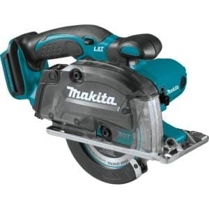 18-Volt LXT Lithium-Ion Cordless 5-3/8 in. Metal Cutting Saw with Electric Brake and Chip Collector Tool-Only