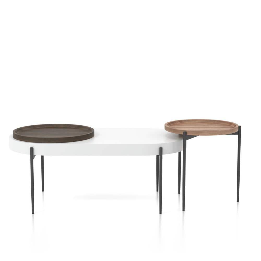 HomeTrends4You 201142-P Coffee Table 110 x 42 x 60 cm 110 x 42 x 60 cm Sonoma Oak Dark