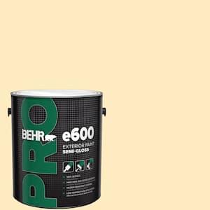 Behr Pro 1 Gal P260 2 Yogurt Semi Gloss Exterior Paint Pr67001 The Home Depot