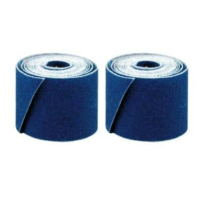 1-1/2 in. x 2 yd. Solder Plumbers Cloth Abrasive Grit Roll (2-Pack)