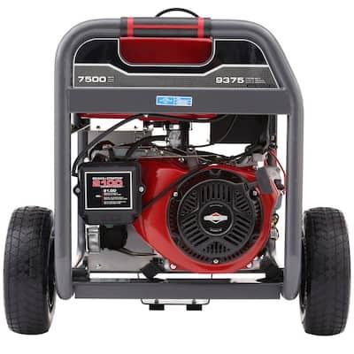 7,500-Watt Gasoline Powered Portable Generator with Briggs Engine