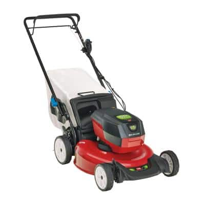 Recycler SmartStow 21 in. 60-Volt Max Lithium-Ion Brushless Cordless Battery Walk Behind Mower RWD (Tool-Only)