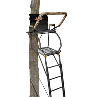 20 ft. The Skybox Deluxe 1-Person Deer Hunting Ladder Tree Stand