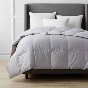 White Bay Medium Warmth Platinum Queen Down Comforter