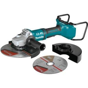 18-Volt X2 LXT Lithium-Ion (36V) Brushless Cordless 9 in. Paddle Switch Cut-Off/Angle Grinder w Electric Brake Tool Only