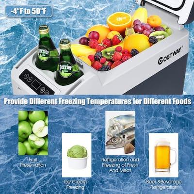 13 Quart Portable Electric Car Chest Cooler Refrigerator Compressor Freezer Camping