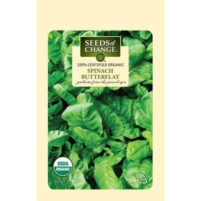 Organic Butterflay Spinach Seed