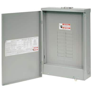 BR 125 Amp 20 Space 24 Circuit Outdoor Main Lug Loadcenter with Cover
