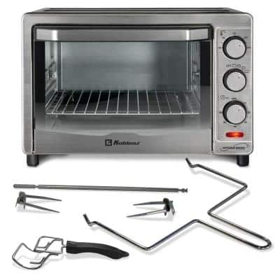 Kitchen Magic Collection Silver 24-Liter Oven with Rotisserie