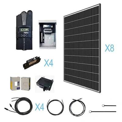 2560-Watt 48-Volt Off Grid Monocrystalline Solar Kit