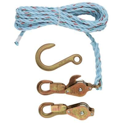 Block and Tackle with Anchor Hook Cat. No. 258