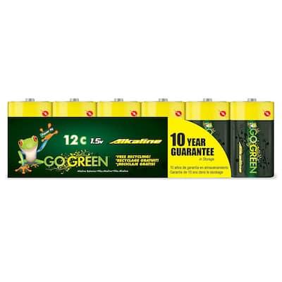 C Alkaline Battery (12 per Pack)