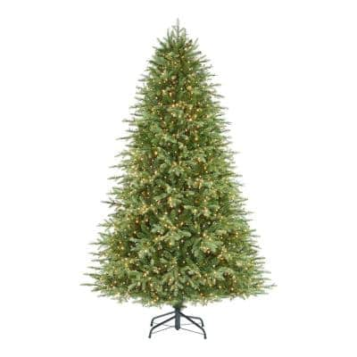 7.5 ft. Grand Duchess Balsam Fir LED Pre-Lit Artificial Christmas Tree With 2250-Color Changing Lights and 10-Function