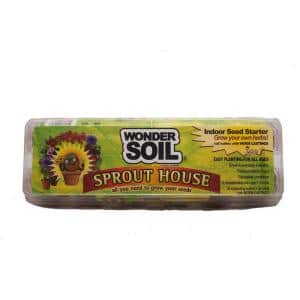 Sprout House Microgreen Growing Kit with Organic Coco Coir Wafers, Cups and Seeds