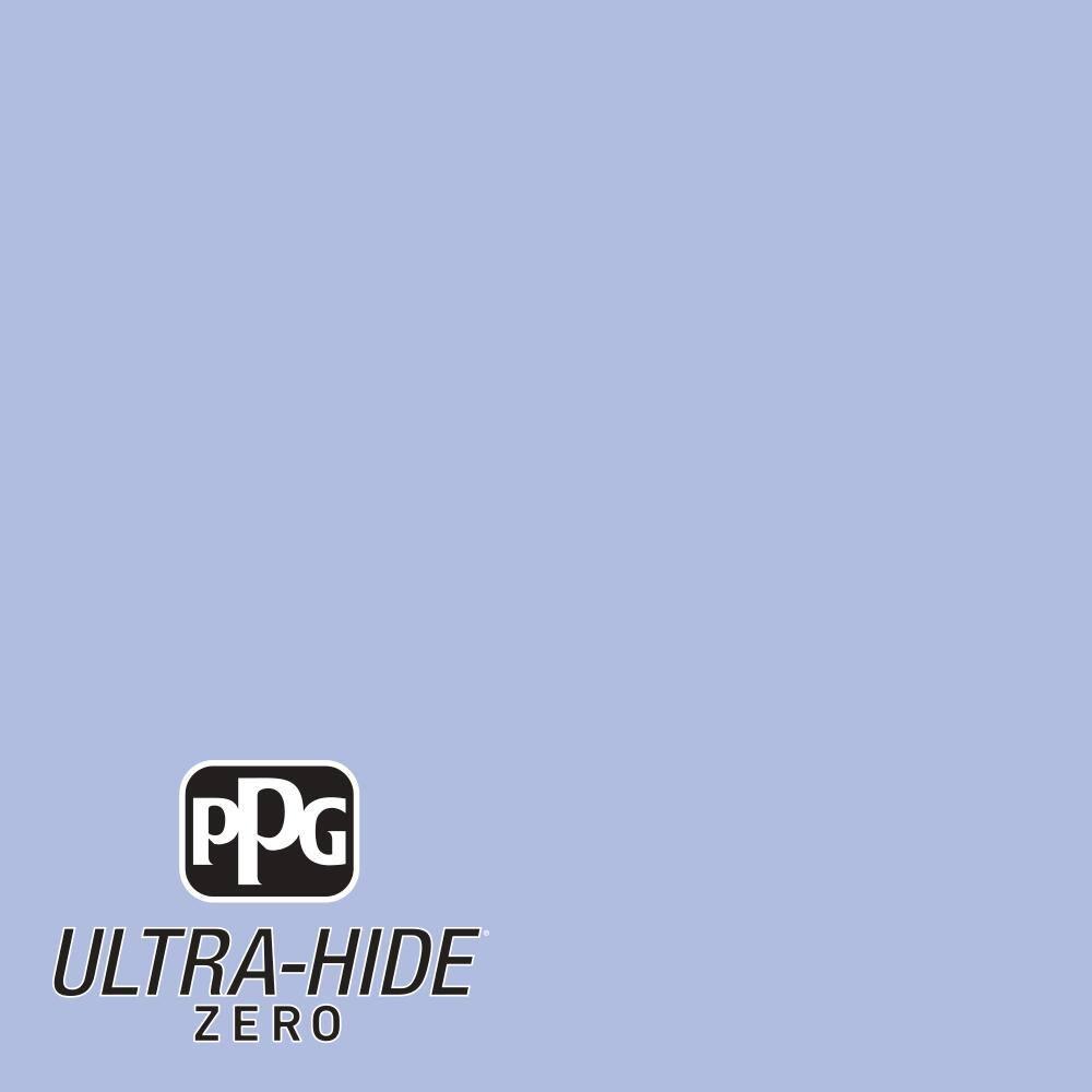 Ppg 1 Gal Hdpv28u Ultra Hide Zero Roslyns Periwinkle Blue Satin Interior Paint Hdpv28uz 01sa The Home Depot
