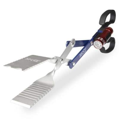 BBQ Croc 18 in 3 in 1 BBQ Tool with Clip-on Light