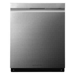 24 in. Stainless Steel Top Control Built-In Tall Tub Smart Dishwasher with QuadWash, ENERGY STAR, 40 dBA