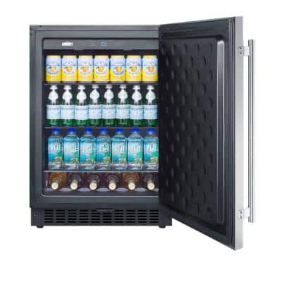 4.6 cu. ft. Outdoor Refrigerator in Stainless Steel