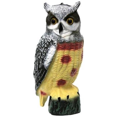 16.25 in. Garden Owl Decoy Pest Repellant