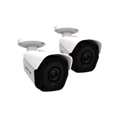IC8 - 4K Wired IP Surveillance Security Cameras (2-Pack)
