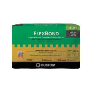 FlexBond 50 lb. Gray Fortified Thinset Mortar