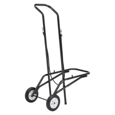 150 lbs. Weight Capacity Dolly for Stack Chairs Includes Hooked on Bungee Cord For Ease of Transport