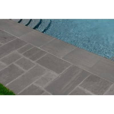 13 in. x 24 in. Palmwood Gris Gray Porcelain Pool Coping (26 Pieces/56.33 sq. ft./Pallet)