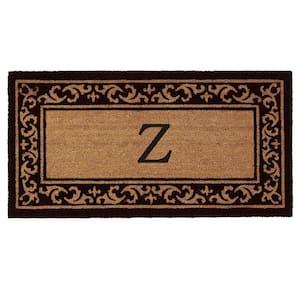 Kendall Monogram Door Mat 24 in. x 48 in. (Letter Z)