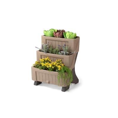 3-Level Herb and Flower Garden Planter