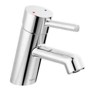 Precept Single-Handle Single Hole Bathroom Faucet with Metal Pop-Up Assembly and 0.5 GPM in Chrome