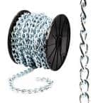 #2/0 x 75 ft. Zinc Plated Steel Twisted Link Chain