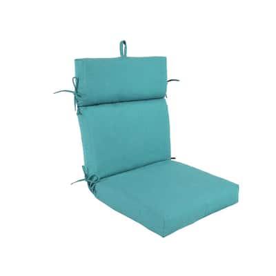Pacifica Premium Surf Patio Dining Chair Cushion