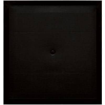 15.5 in. x 16.5 in. #002 Black Meter Block