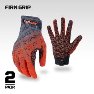 Large Dura-Knit Work Gloves (2-Pair)