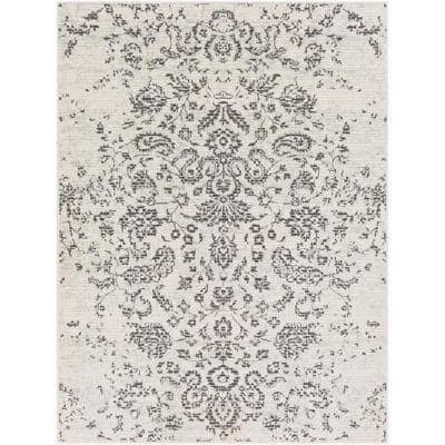 Blaise Taupe 5 ft. 3 in. x 7 ft. 3 in. Oriental Area Rug