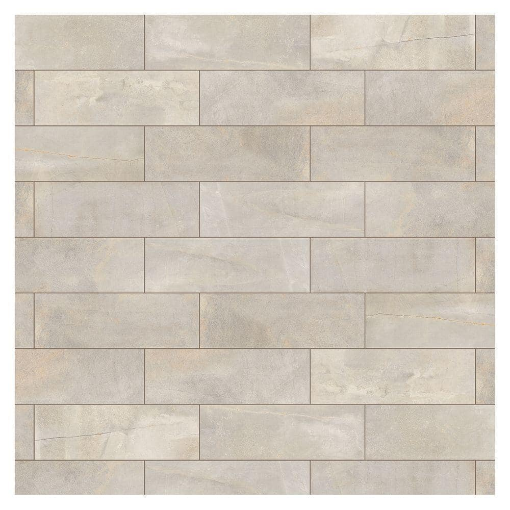 Marazzi Developed By Nature Pebble 4 In X 12 In Glazed Ceramic Wall Tile 10 64 Sq Ft Case Dn12412modhd1p2 The Home Depot