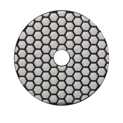 4 in. 800 Grit Resin Dry Polishing Pad